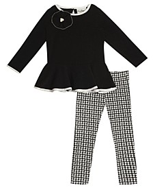 Big Girls Textured Knit Legging Set