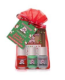 Santa's Sweetie, Nail Paint, Set of 4