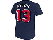 Arizona Wildcats Men's Throwback Name and Number Basketball T-Shirt Deandre Ayton