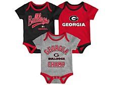 Georgia Bulldogs Newborn Champ Set