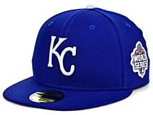 Kansas City Royals World Series Patch 59FIFTY Cap