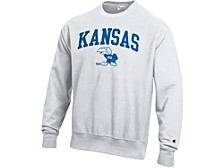 Kansas Jayhawks Men's Vault Reverse Weave Sweatshirt