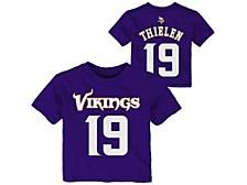 Toddler Minnesota Vikings Mainliner Player T-Shirt - Adam Thielen