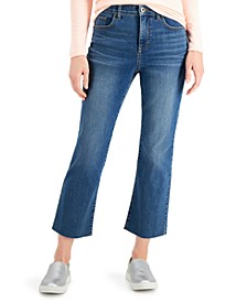 Mid-Rise Kick Crop Jeans, Created for Macy's