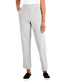 Petite High-Rise Pull-On Pants, Created for Macy's