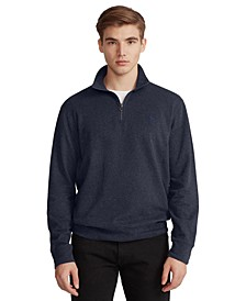 Men's Jersey Quarter Zip Sweatshirt