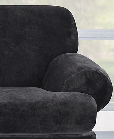 Sure Fit Stretch Plush 2-Piece T Slipcover Collection