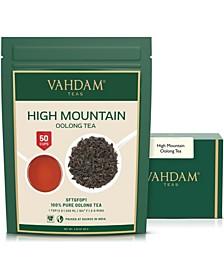 High Mountain Oolong Tea Leaves, 100% Natural Detox Tea 50 Servings