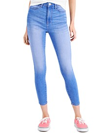 Juniors' Curvy High-Rise Skinny Ankle Jeans