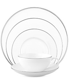 Villeroy & Boch Dinnerware, Anmut Platinum 5 Piece Place Setting