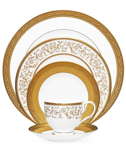 Noritake Dinnerware, Summit Gold Collection
