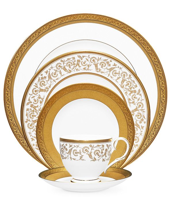 Noritake Summit Gold 5 Piece Place Setting