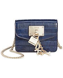 DKNY Elissa Leather Micro Mini Bag
