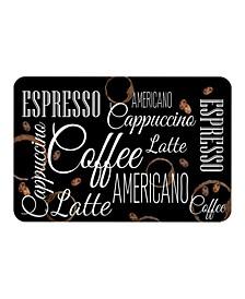 Coffee Shop Kitchen Mat