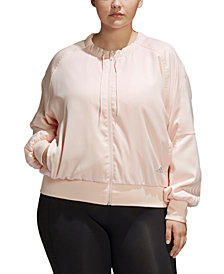 adidas Plus Size City Light Jacket