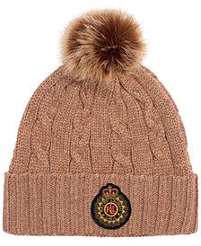 Lauren Ralph Lauren Patch Cable Hat