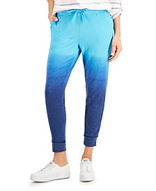 Petite Ombré Joggers, Created for Macy's