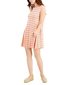 Striped Sleeveless Flip-Flop Dress, Created for Macy's