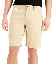 "Men's Roggen Flat-Front 10"" Shorts, Created for Macy's"