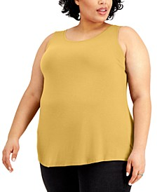 Plus Size Tank Top, Created for Macy's