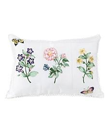 "Flower Study 14"" x 20"" Decorative Pillow"