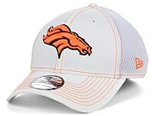 Denver Broncos White Team Color Tonal Neo 39THIRTY Cap
