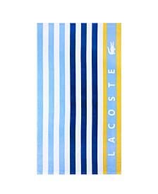 Boardwalk Cotton Stripe Beach Towel