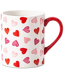 Valentine's Day Floating Heart Mug, Created for Macy's