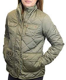 Women's Diamond Quilted Field Jacket
