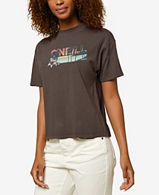 Palm Set Dunes Women's Tee