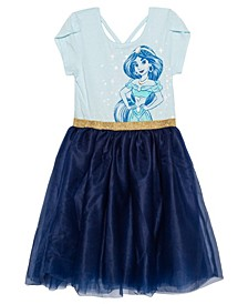 Big Girls Jasmine Short Sleeve Tutu Dress