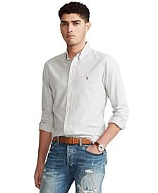 Men's Classic-Fit Gingham Oxford Shirt