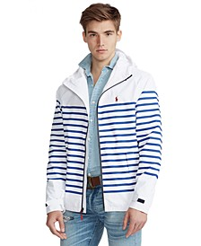 Men's Striped Hooded Jacket