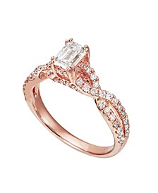 Diamond Engagement Ring (1 1/4 ct. t.w.) in 14K Rose Gold