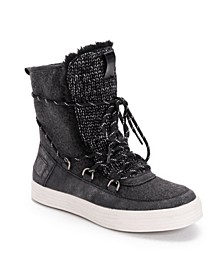 Women's Jacey Laceup Booties