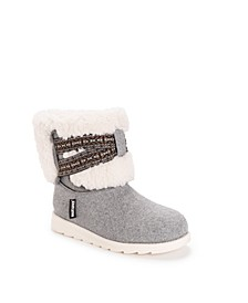 Women's Tamara Cold Weather Furry Booties