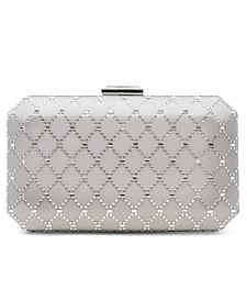INC Sasha Satin Sparkle Clutch, Created for Macy's
