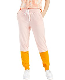 Petite Colorblocked Joggers, Created for Macy's