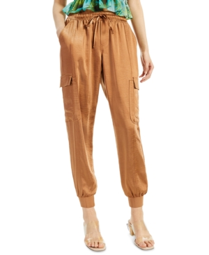 Inc International Concepts Track pants INC SOLID UTILITY JOGGERS, CREATED FOR MACY'S