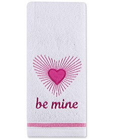 "Be Mine 16"" x 28"" Hand Towel, Created for Macy's"