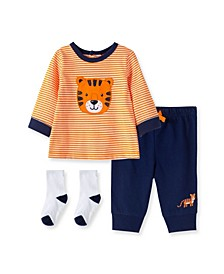 Baby Boys Tiger Jogger Set