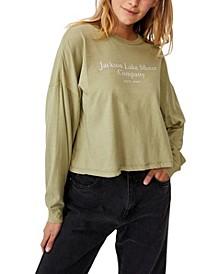 Women's Bree Graphic Long Sleeve T-shirt