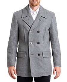 Men's Classic Double Breasted Overcoat