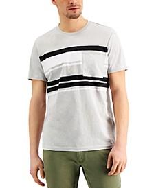 Men's Stripe Pocket T-Shirt, Created for Macy's