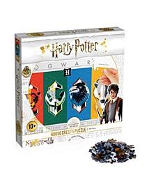 """Harry Potter 500 Piece """"House Crests"""" Puzzle"""