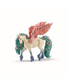 Fantasy, Flower Pegasus Toy Figurine