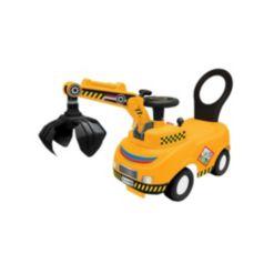 Kiddieland Lightsn Sounds Activity Crane Truck Ride-on Toy