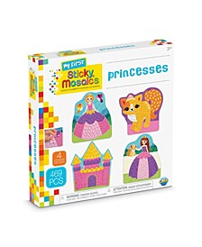My First Princesses Design Mosaic Craft by Numbers Kit - 469 Pieces