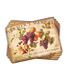 Abundant Fall Placemats, Set of 4