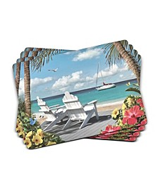 In the Sunshine Placemats, Set of 4